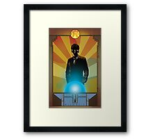 Doctor Who - Allons-y Framed Print