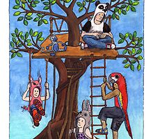 KMAY Hoodkid Treehouse by Katherine May