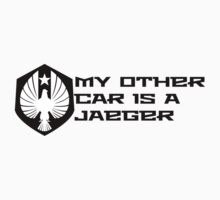 My Other Car is a Jaeger - Pacific Rim by timnock