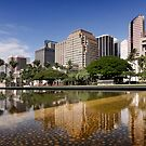 Downtown Honolulu by Alex Preiss