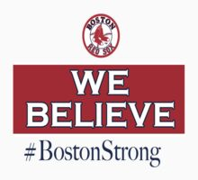 Boston Strong by Designs101