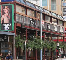 Hindley Street Adelaide, South Australia by indiafrank