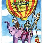 KMAY Hoodkids Balloon Ride by Katherine May