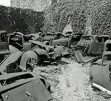 car graveyard by anfa77