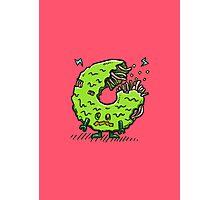 Zombie Donut 02 Photographic Print