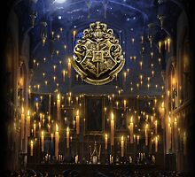 Hogwarts Great Hall - iPad 1 by Serdd