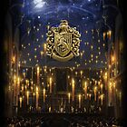 Hufflepuff Great Hall - iPad 1 by Serdd