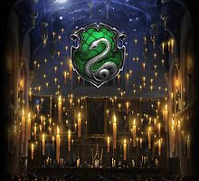 Slytherin Great Hall - iPad 2 by Serdd