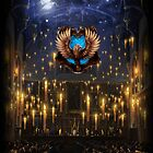 Ravenclaw Great Hall - iPad 2 by Serdd