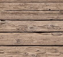 Old wooden boards by melastmohican