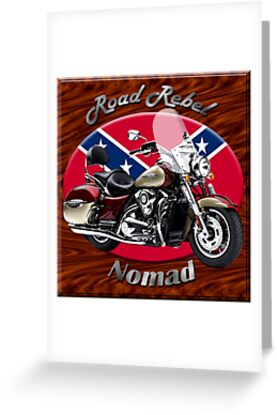 Kawasaki Nomad Road Rebel by hotcarshirts