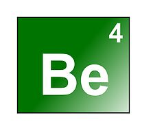 Beryllium - Be4 by Atomic5