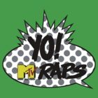 yo mtv raps logo white by websta