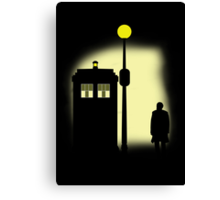 THE DOCTOR - Doctor Who Canvas Print