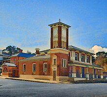 Carcoar Post Office by Stuart Row