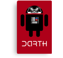 Darth Android Canvas Print