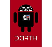 Darth Android Photographic Print