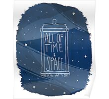 All Of Time and Space Poster