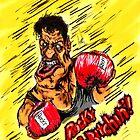 Rocky Balboa charicature by Josemiquel