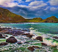 Northern Ireland. Giant's Causeway. Seascape. by vadim19