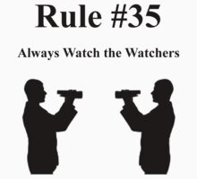 Gibbs Rule #35 by LindenLow