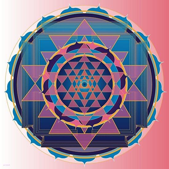 Namaste Healing Mandala by shoffman