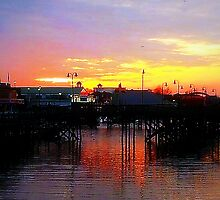 Broadway Sunset, Myrtle Beach, SC by Karen L Ramsey