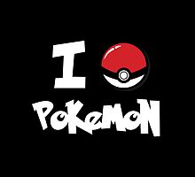 I Heart Pokemon by fishbiscuit