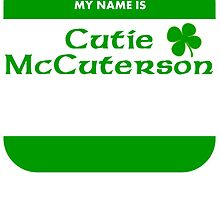 My Name Is Cutie McCuterson by kwg2200