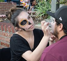 Face Painting at Day of the Dead by effie2