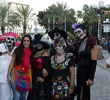 Celebrants at Day of the Dead Los Angeles by effie2