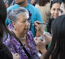 Face Painting Day of the Dead Los Angeles by effie2