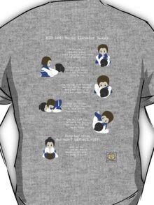 BJJ 101: Basic Elevator Sweep T-Shirt