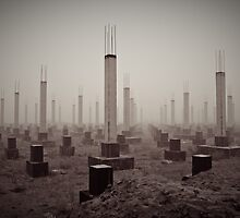 cemetery of the 21st century by Petr Starov