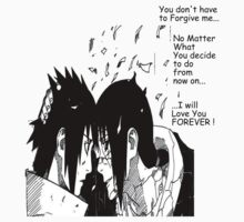 Itachi's Last Words to Sasuke ! by MeenakshizArt