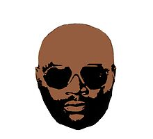 Rick Ross Head by bhm57