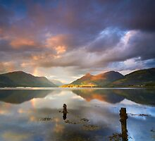 Along Loch Leven by Jeanie