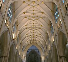 York Minster Interior II by Jazzdenski