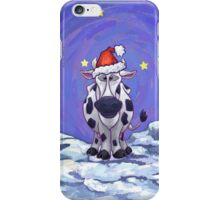 Cow Christmas iPhone Case/Skin