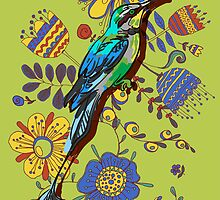 drawing of the bird by OlgaBerlet