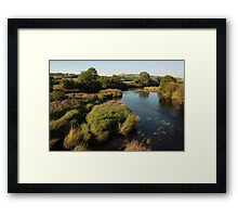 River Finn At Clady Framed Print