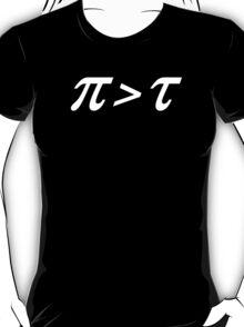Pi > Tau T-Shirt