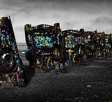 Cadillac ranch by cgarphotos