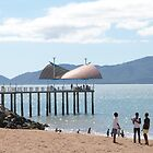 Townsville Jetty & Beach, far north Queensland. by Rita Blom