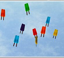 Popsicles in the Sky by Paula Contreras