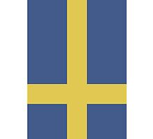Sweden Iphone case by hooluwan