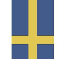 Sweden Iphone case by hooluwan