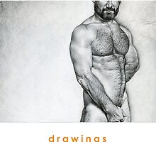 Cover 2014 drawings calendar by Chris Lopez