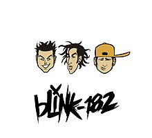 Blink 182 Iphone Case by hooluwan