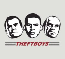 Theft Boys by Bizarro Tees